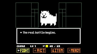 [언더테일 팬게임] 개 짜증 - 짜증나는 강아지 보스전