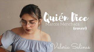 Quién Dice - Marcos Menchaca (Cover)