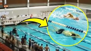 In Just One Breath! This Athlete Won a Championship in a Pool Because of His Dolphin Skills