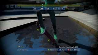 EA Skate 3 - Water Pop Glitch