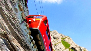 The most DANGEROUS RAILRWAY Tracks in World * TOP 5