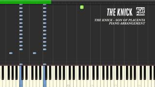 THE KNICK - OPENING THEME - SYNTHESIA (PIANO ARRANGEMENT)