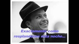 """Frank Sinatra """"The way you look tonight"""" Subtítulos en Español"""