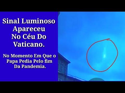 Sinal Apareceu no Céu do Vaticano?