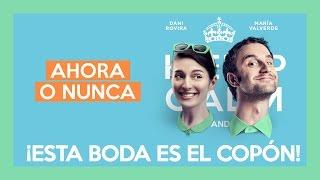 """Pieza exclusiva """"AHORA O NUNCA"""" con Dani Rovira y María Valverde. Ya en cines."""