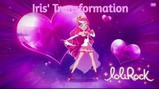 LoliRock, Season 1 - Episode 1, To Find a Princess (Iris' Transformation)
