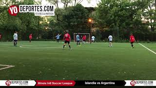 Islandia vs. Argentina el Mundialito el Chicago