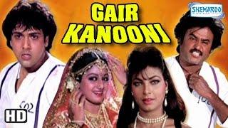 Gair Kaanooni {HD} - Govinda - Sridevi - Rajinikanth - 80's Hit Movie