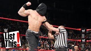 John Cena's 6 strangest matches: WWE List This!