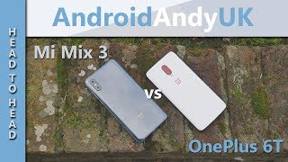Xiaomi Mi Mix 3 vs OnePlus 6T (FPS, Benchmark, GPS, Speaker, Screen, Browser Test)
