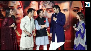 'Kalank' trailer launch: Alia 'raps', Varun touches her feet