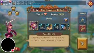 Lords Mobile - Elite Rose Knight 6-15