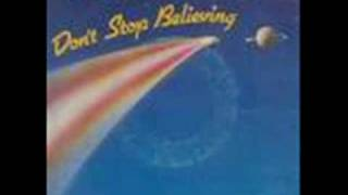 don't stop believing journey with lyrics