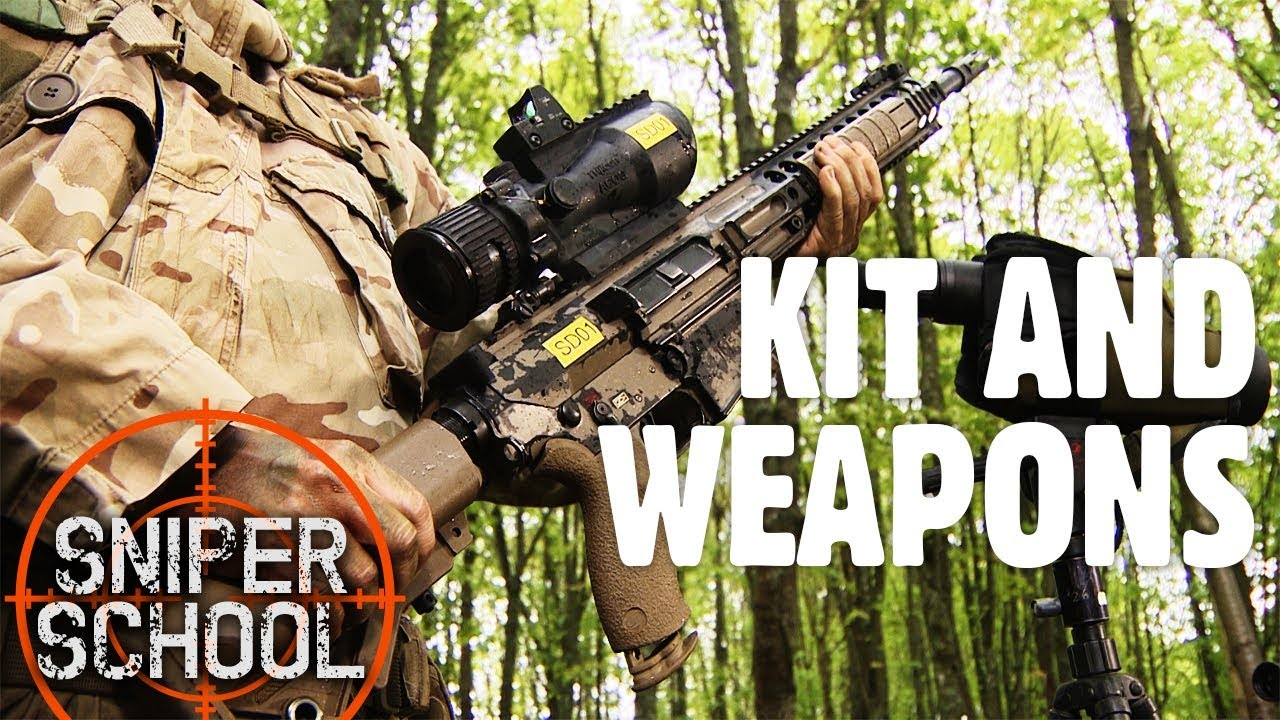Sniper School : What Kit Do Military Marksmen Carry With Them?