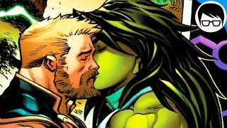 EL AMOR ENTRE THOR Y SHE HULK (2019) | Avengers Vol. 8 #11 | COMIC NARRADO width=