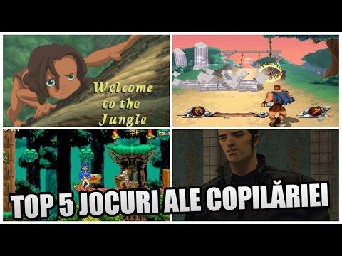 TOP 5 JOCURI ALE COPILĂRIEI