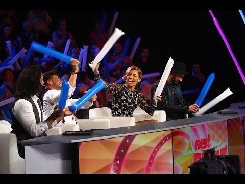 Ștefania Barteș le arată juraților cum să țină ritmul cu ajutorul baloanelor, Next Star