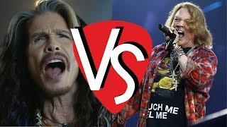 Axl Rose vs Steven Tyler