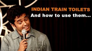 The Train Toilet Experience - Naveen Richard   Stand Up Comedy