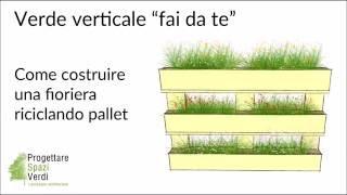 TUTORIAL PALLET FAI DA TE: Come costruire una fioriera riciclando un bancale