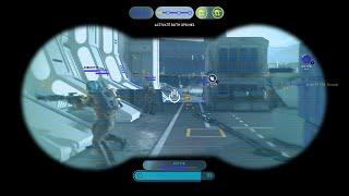Star Wars Battlefront Nien Nunb's Electro Binocilors Power Hero Gameplay | Outer Rim DLC