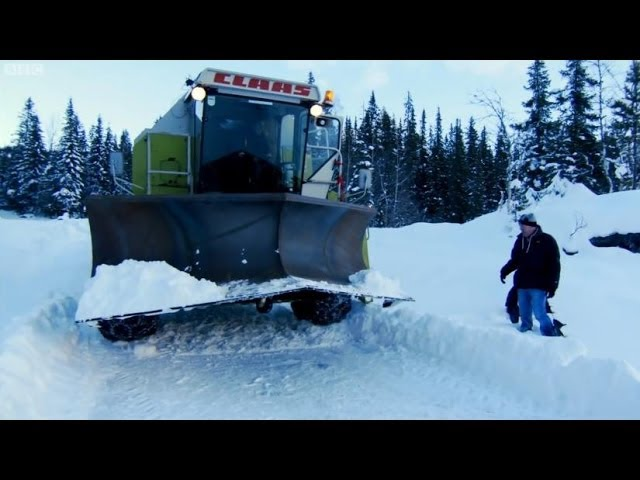 The Snowbine Harvester Part 1 | Top Gear | BBC