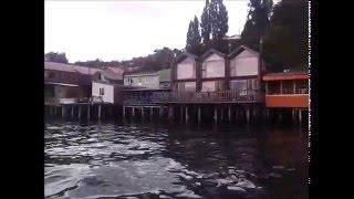 Puerto Montt y Chiloe con música de Bordemar