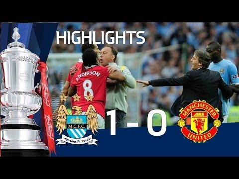 Man City 1-0 Man United Official Highlights | The FA Cup Semi Final