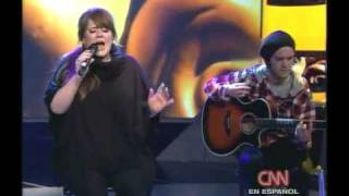 Adele - Melt my heart to stone , in CNN acoustic