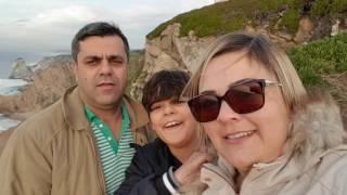 Testando a câmara 4k Samsung 7 Edge - Sintra - Cabo da Roca