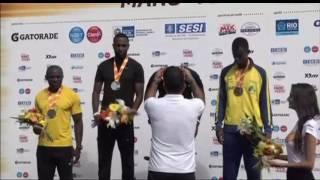 Americano Justin Gatlin vence prova dos 100 metros, no desafio Mano a Mano