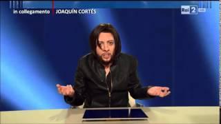 In collegamento Juaquin Cortés (Lucia Ocone) - Quelli che il calcio 18/01/2015