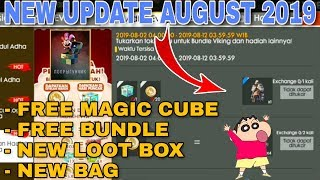 Free Fire New Upcoming Update August 2019 Coming Soon - Garena Free Fire