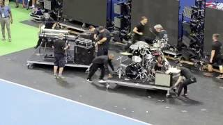 Breaking Down Phil Collins' Stage at US Open 2016