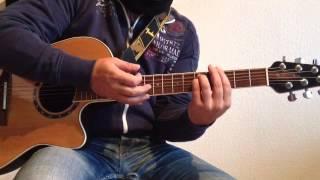 Un Dos Tres Maria von Ricky Martin spielen / Gitarre lernen