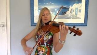 Lara plays Attack on Titan OP2 on violin