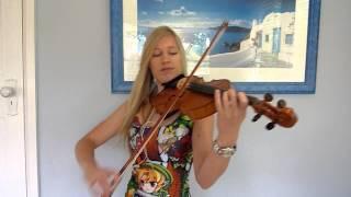 Lara plays Attack on Titan OP2 on violin
