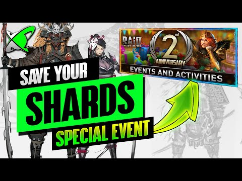 SAVE YOUR SHARDS | 2 Year Anniversary Event... Guaranteed Champion !? | RAID: Shadow Legends