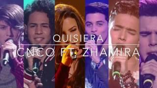Quisiera - CNCO ft. Zhamira Zambrano (Estadio Vacío)