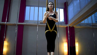 06. Thess Pole Art Show 24 - Fly Yoga Christina's Solo (Tiësto remix - Dancing On My Own)