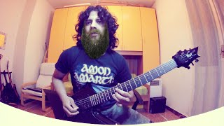 """Amon Amarth - At Dawn's First Light """"Guitar Cover"""" [GoPro Hero]"""