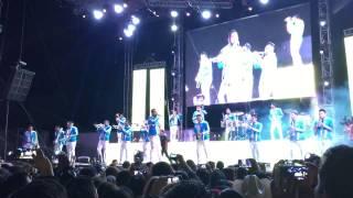 Banda MS ayer la vi por la calle en vivo Durango Dgo 26/04/15
