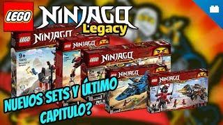 NUEVOS sets de LEGO Ninjago Legacy por 100 CAPÍTULOS 2019.