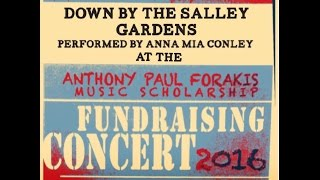Down By The Salley Gardens Live at the Anthony Forakis Scholarship Fundraising Concert 2016
