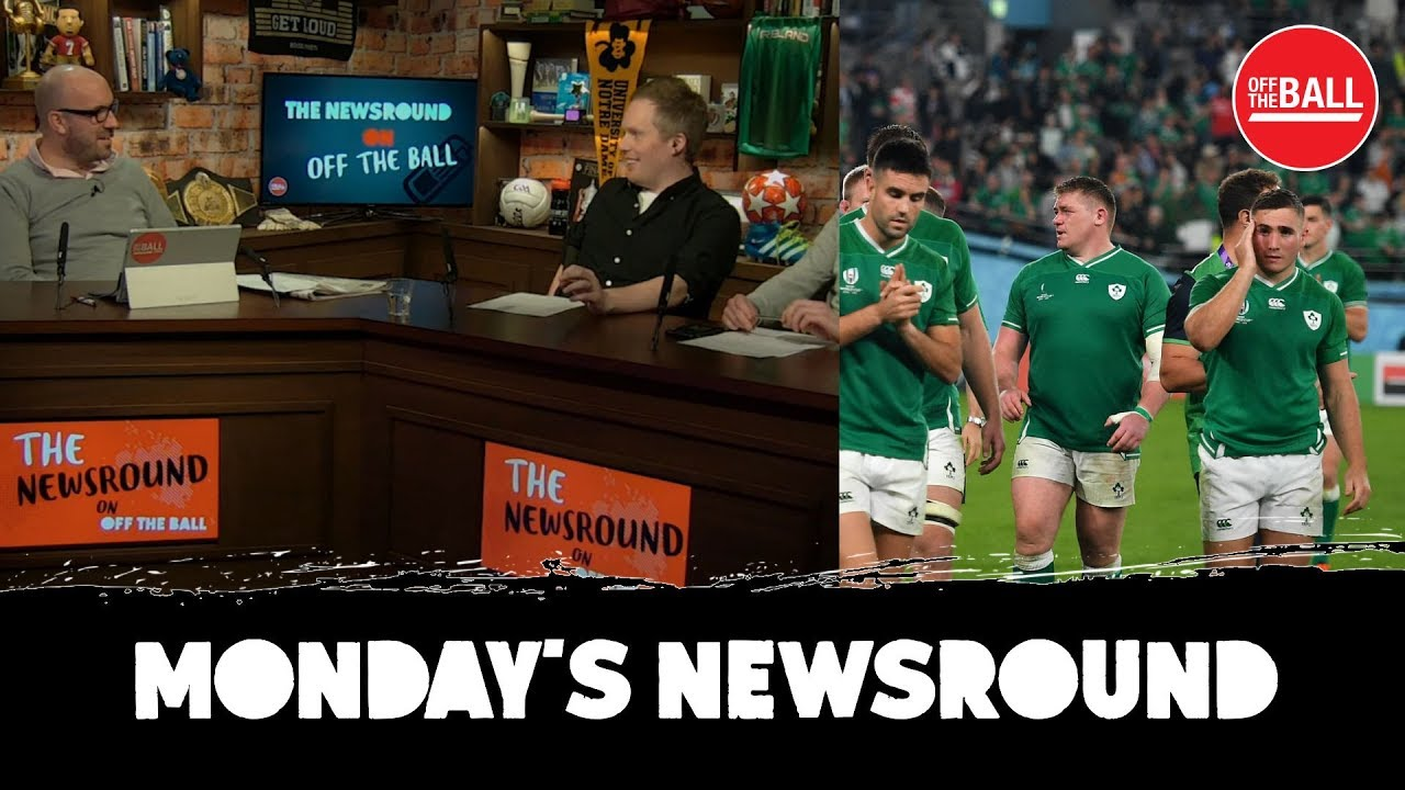 Has the Reaction to Ireland's Rugby Loss been less Harsh than for Soccer?