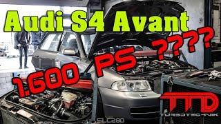 Schaffen wir die 1.600 PS auf dem Prüfstand??? Audi S4 Avant von TTD Turbotechnik