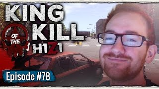 THE EPIC POLICE CHASE | H1Z1 King of the Kill #78