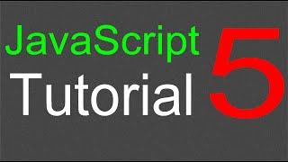 JavaScript Tutorial for Beginners - 05 - Using an external file
