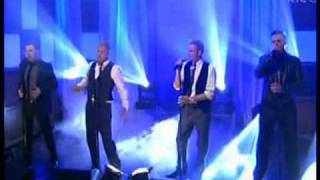 Westlife - Us Against The World [Tubridy Tonight 16-02-2008]