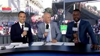 Elliot Loney Imitates Nadal, Murray, Kyrgios & Djokovic - Montreal 2017